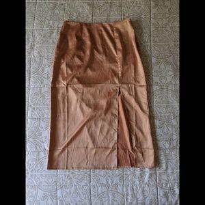Forever 21 | Satin Pencil Skirt